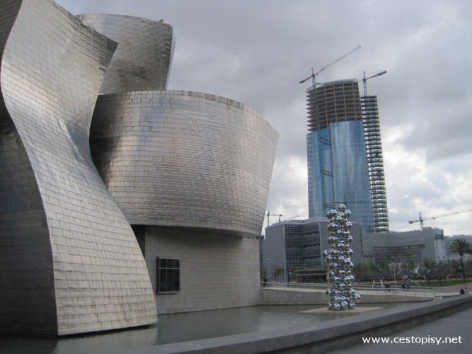 Bilbao - Guggenheimovo muzeum moderního umění