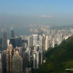 Čína - Ostrov Hongkong – vrcholek Victoria Peak