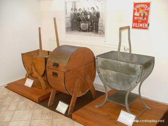 Svitavy - Unikátní expozice praček a historie praní v městském muzeu