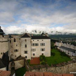 Rakousko - Salcburk - hrad Hohensalzburg