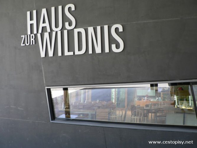 Německo - Bavorský les - Dům k divočině (Haus zur Wildnis)