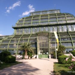 Vídeň – Palmenhaus a Wüstenhaus v Schönbrunnu