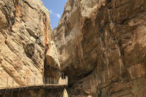 Caminito del Rey – strhující skalní stezka v Andaluzii
