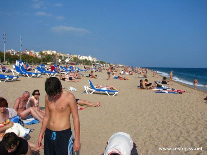 Španělsko - Calella – moderní hotely, pláže i  půvabná historická část