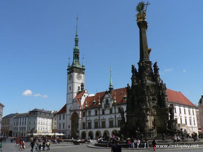 Sloup Nejsvětější Trojice - Olomoucká UNESCO památka