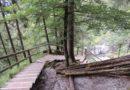 Rakousko – vodopád Golling a město Golling an der Salzach