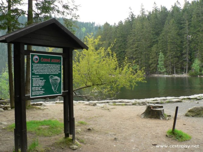 Šumava - Černé jezero a vodopád Bílá strž