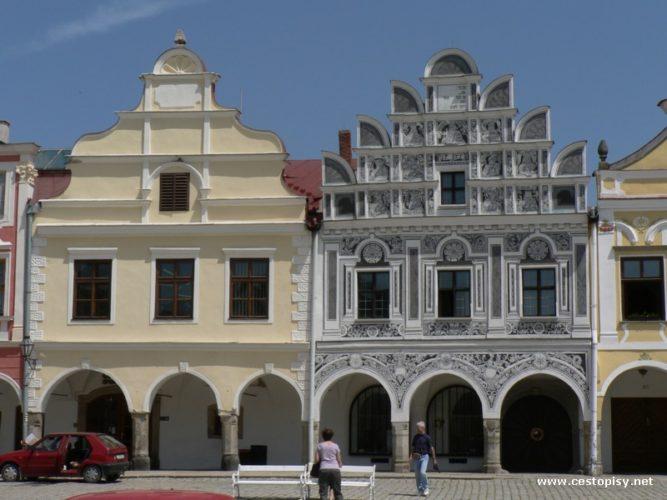 Telč - zámek a město skvostem UNESCO