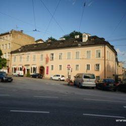 Salcburk - Mozartův rodný dům a dům kde bydlel
