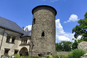 Zhradu Šternberk pocházela moravská větev slavného rodu
