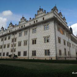 Zámek Litomyšl - UNESCO památka mající unikátní sgrafitovou výzdobu
