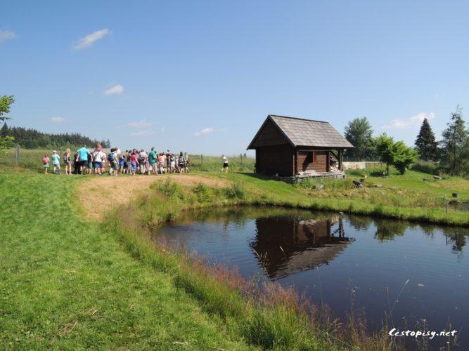 Pstruhová líheň Borová Lada je unikátní projekt Národního parku Šumava