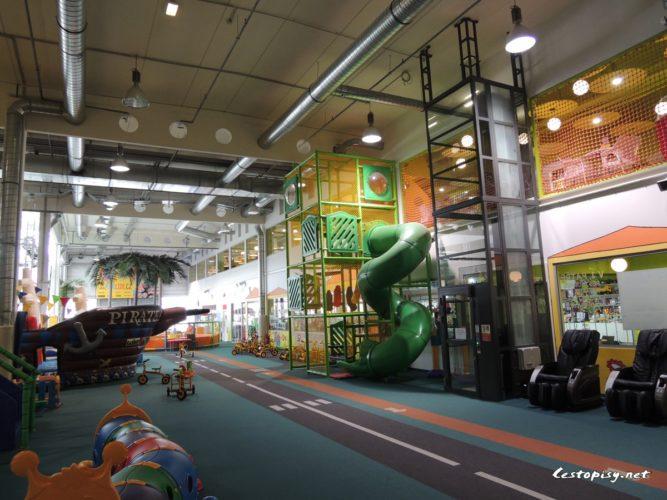 Wikyland - rodinné zábavní centrum Brno