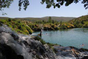 Muškovci – vodopády řeky Zrmanja