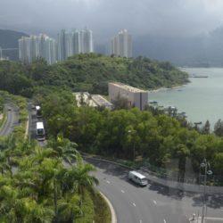 Čína - Hongkong, ostrov Lantau a sedící Buddha