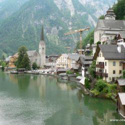 Hallstatt - Solné doly, jezero a unikátní kostnice