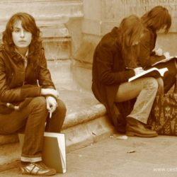 Francie - Paříž - Latinská čtvrť