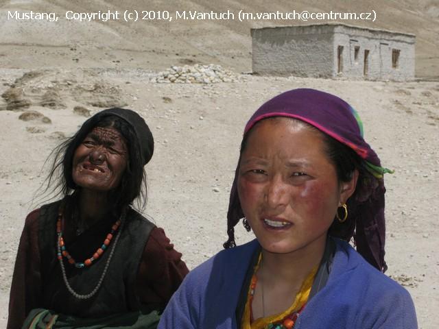 Nepál - Mustang - země za hradbou Himálají