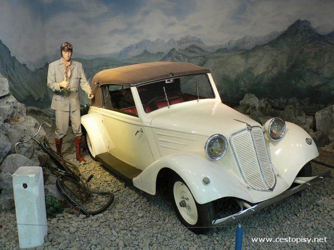 Kopřivnice a muzeum Tatra