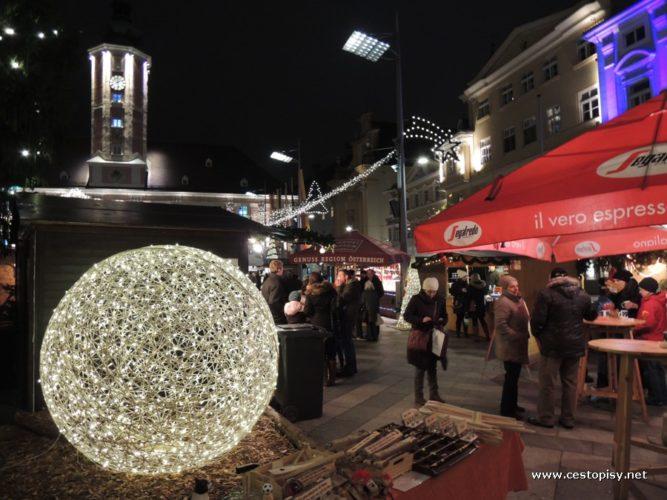 Rakousko - vánoční St. Pölten