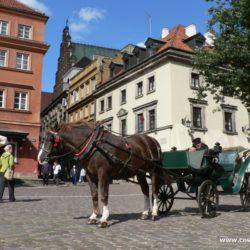 Varšava - památky, krásná náměstí a kostely