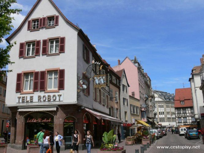 Francie – Alsasko - Colmar a Štrasburk
