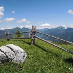 Rakousko - Russbach, lanovka na Hornspitz a Brunův horský svět