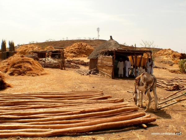 Prodejna stavebnin pobliz etiopskych hranic