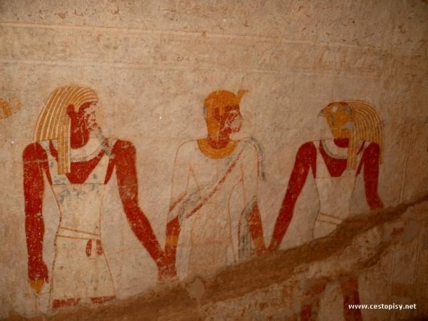 Malby v hrobce El Kuru