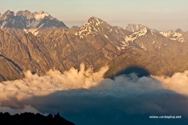 Gruzie Mt. Kazbeg