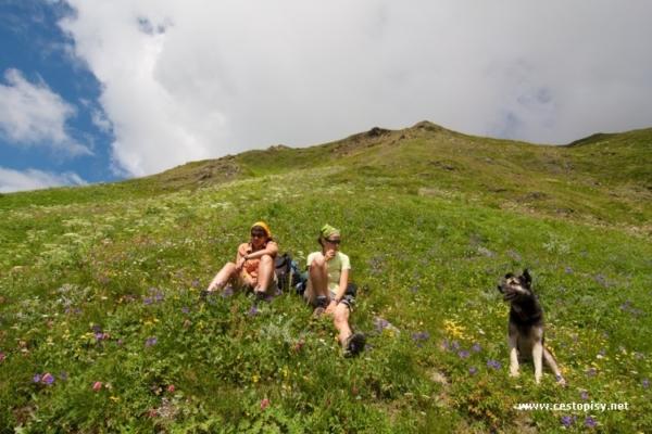Svanetie – trek pod horou Ushba