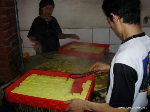 Vyroba tofu
