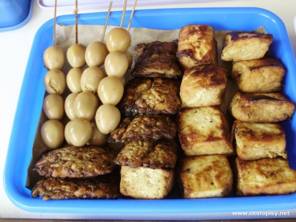 Krepelci vajicka tempe tofu