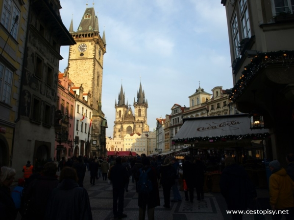 vánoce Praha