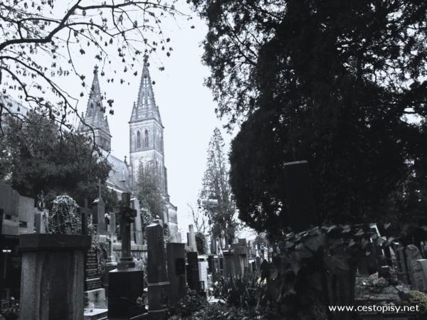 Praha Vyšehrad hřbitov