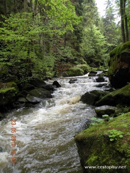 údolí řeky Doubravy