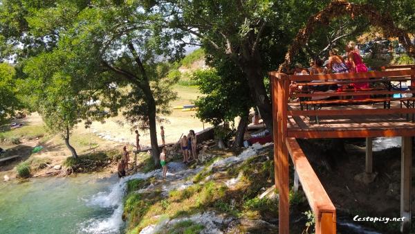 Vodopády řeky Zrmanja