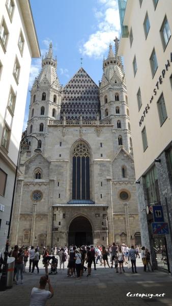 Vídeň Stephansdom