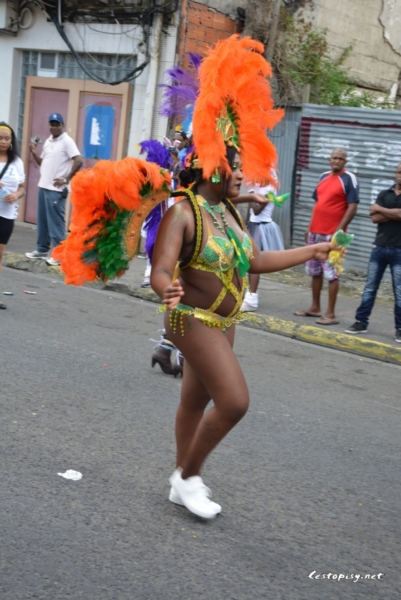 Martinik - karneval ve Fort-de-France